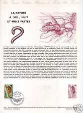 FRANCE Document officiel - Cigale rouge 1° jour 10.9.77