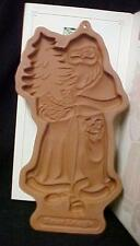 Longaberger '91 Kriss Kringle Pottery Cookie Candy Mold Christmas Holiday