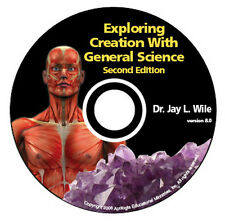 NEW *APOLOGIA* EXPLORING CREATION GENERAL SCIENCE HOMESCHOOL FULL COURSE CD-ROM