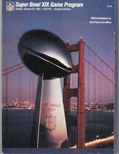 Vintage Superbowl VI Dallas Cowboys vs Miami Dolphins 1972 Game Day Program