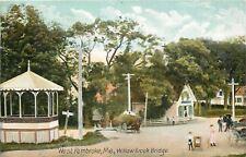 West Pembroke Maine~Gilpatrick~Fancy Gazebo~Kids on Hayride~Baby Stroller 1907