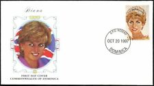 Dominica 1997 Diana Princess Of Wales, FDC First Day Cover #C45948