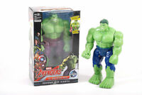MARVEL INFINITY HULK TALKING WALKING ACTION FIGURES DOLL LIGHT SOUND ROBOT TOY