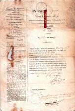 Rare PATENTE d'épicier du 24/07/1839 - Montréjeau 31