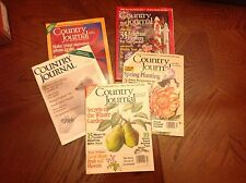 Lot Of Country Journal Magazines , Farm Life , Homesteading Info