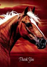 Radiant Dream Thanks - Horse - Tree Free Greeting Card - 14880