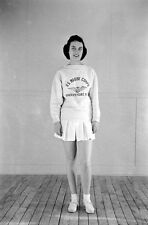 WW2 Photo WWII  Female US Marine Athletic Outfit  MCWR 1944 USMC World War/ 1478