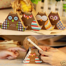 Creative Wooden owl Cell Phone Stand Mobile Phone Support Mount Holder