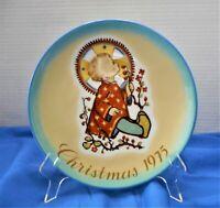 "VINTAGE ""CHRISTMAS CHILD"" BY SISTER BERTHA HUMMEL CHRISTMAS PLATE"