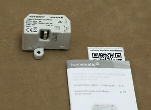 Homematic IP Funk Schaltaktor mit Messfunktion HmIP-FSM / 142721A0A