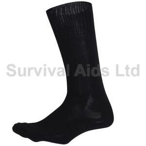 US Military Black G.I Cushioned Sole Socks, Rothco