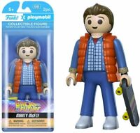 "Funko Back to the Future Marty McFly 6"" Playmobil Vinyl Figure Rare Item"