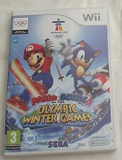 MARIO AND SONIC AT THE WINTER OLYMPIC GAMES WII PAL