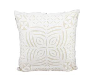 Cotton cushion Cover Applique Work White Pillow Decorative Throw Pillow Case
