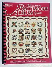 Miniature Baltimore Album Quilts Buechel, Jenifer Paperback - 28 Designs