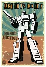TRANSFORMERS Limited Giclee Art Prints Magatron Optimus Prime Hot Rod Jazz