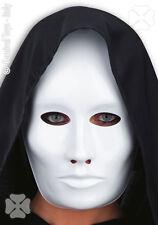 Masque neutre homme blanc [0083bl] à décorer loisirs créatifs carnaval costume