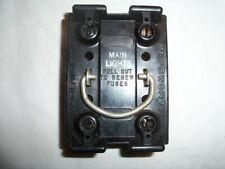 """Wadsworth 60Amp Fuse Holder Pull-Out """"Main Lights"""" 120/240V"""