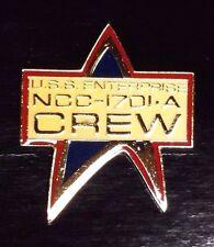 "DMPI-NGShip Star Trek Next Generation Logo w Ship 1.5/"" Enamel Pin-"