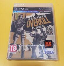 The House of Dead Overkill GIOCO PS3 VERSIONE ITALIANA NUOVO