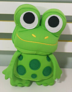 MY FIRST FROGSTAR BRIO FROG 23CM TALL ZIPPERED POUCH! REPLACEMENT!