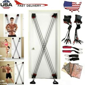Tower 200 TM Door Gym Exercise Fitness Full Body Gym with Resistance Rope