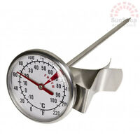 100% Genuine! Davis & Waddell Essentials Milk Frothing Thermometer Large Dial!