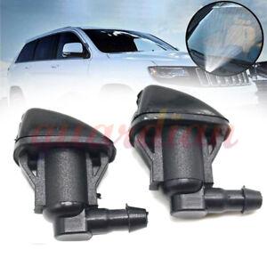 2x For Toyota Sienna 85381AE020 Windshield Wiper Jet Washer Nozzle Water Spray