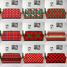 1/2/3/4 Seat Stretch Spandex Slipcover Sofa Couch Cover Protector Christmas Gift