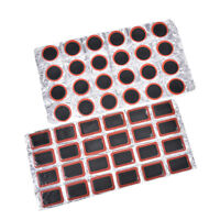 48Pcs 30mm Round Bicycle Tyre Puncture Patch Tyre Inner Tube Prick Repair Pad JB
