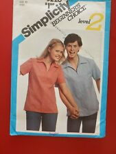 Simplicity Beginners' Choice Level 2 pattern 5226 Misses' Top  sz 10 bust 32-1/2