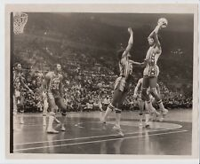 1974 JULIUS ERVING GEORGE MCGINNIS NETS VS PACERS ABA TYPE 1 ORIGINAL 8X10 PHOTO