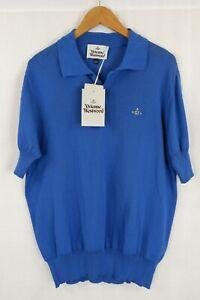 Vivienne Westwood Polo Shirt XL/XXL Blue BNWT