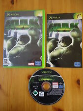 HULK Xbox (Works on 360) Marvel/Avengers/Super Hero/Comic PAL COMPLETE VCG!