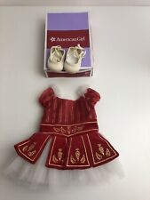 American Girl Doll. Genuine red Irish dancing outfit . VGC🇬🇧