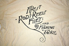 Orvis Cream Mens T-Shirt Trout Bum Rods Reels Fishing Tackle Charles F Orvis Co.