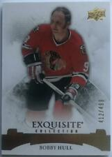 2015-16 Upper Deck Exquisite Collection Bobby Hull MINT 32/499 Chicago 07625