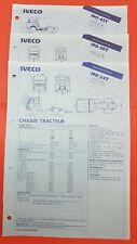 Catalogue / Brochure / Fiche technique Iveco Tracteur   X3