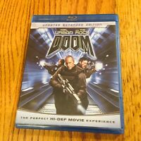 Doom (Blu-ray Disc, 2009) Karl Urban The Rock Dwayne Johnson