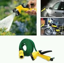 NEW MULTIFUNCTION SPRAY GUN WITH 10M Water HOSE BIKE WASH garden HOSE Car wash