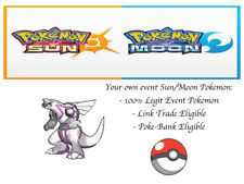 Pokemon Sun and Moon 2018 Legends Palkia Event Pokemon