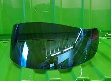 AGV Bleu Miroir Visiere Shield Q3 GT TI-TECH X-VENT Airtech S4 Q3 Stealth BOLT