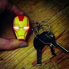 """Marvel de los Vengadores > IRON MAN< keychain LED Schlüsselanhänger - NEU / NEW keychain="""""""" led="""""""" schlüsselanhänger="""""""" -="""""""" neu=""""""""></ keychain LED Schlüsselanhänger - NEU / NEW>"""