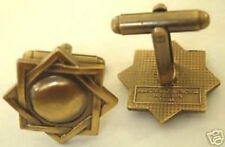 g MELCHIZEDEK PRIESTHOOD SYMBOL Antique Gold Cuff Links mormon lds
