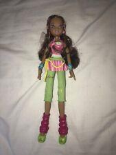 poupée winx doll concert mattel layla RARE 2004