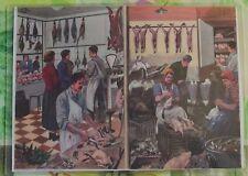 Décoration Murale,Set de Table 42 x 30 cm le Volailler,Gibiers,Chasse,perdrix