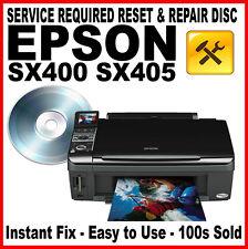 EPSON STYLUS PHOTO R300: Service Repair Fault Reset Disc - Resolve Errors