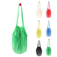 Outdoor Reusable String Shopping Grocery Bag Cotton Mesh Net Woven Shopper