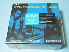 DONALD FAGEN, NIGHTFLY TRILOGY, LIMITED RARE US ED 4 CD + 3 MVI DVD SET (SEALED)