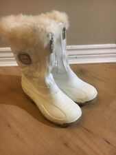 Ladies Olang Snow Boots/Wellies With Faux Fur Trim,Size 35, Good Used Condition